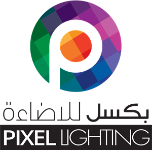 Pixel Lighting Logo Vector