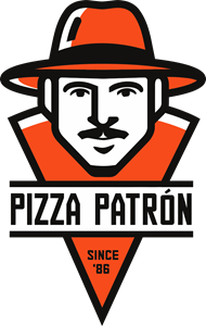 Pizza Patrón Logo Vector