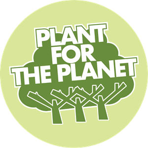 Plant for the planet Logo Vector