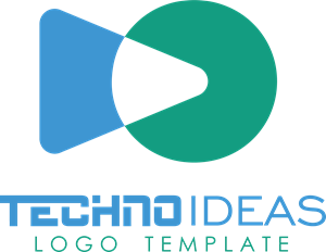 Play Tech Company Logo Vector