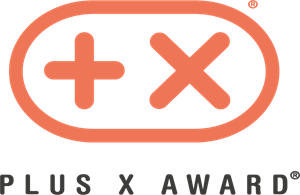 Plus X Award Logo Vector