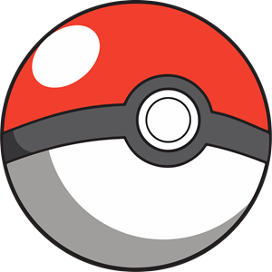 Pokeball Logo Vector