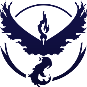 Pokemon GO Team Valor Logo Vector