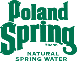 Poland Spring Brand Natural Spring Water Logo Vector