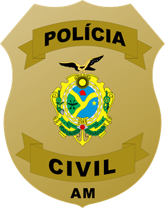 POLÍCIA CIVIL DO AMAZONAS - DISTINTIVO Logo Vector