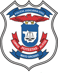 Polícia Civil do Estado de Mato Grosso Logo Vector