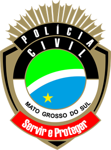 policia civil mato grosso do sul Logo Vector