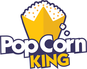Popcorn King Logo Vector