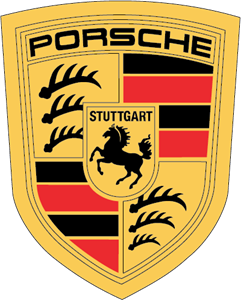 Bilderesultat for porsche logo vector
