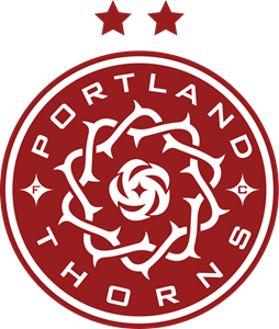 Portland Thorns FC Red Logo Vector