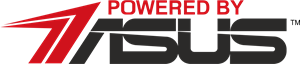 Powered By Asus Logo Vector