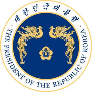 President of the Republic of Korea Logo Vector