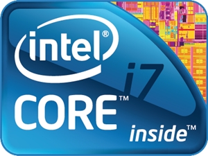 Processeur Intel Core i7 Logo Vector