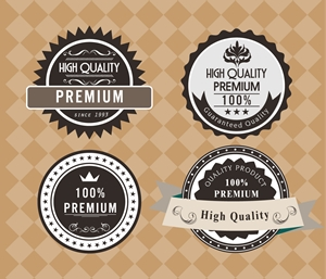 product quality Logo Vector
