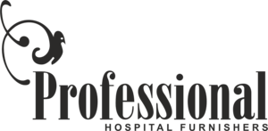 Professional Hospital Furnishers Logo Vector