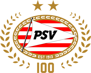 PSV Eindhoven (100 Years) Logo Vector