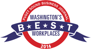 Puget Sound Business Journal Washington's Best Logo Vector