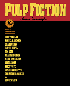 Pulp Fiction Logo Vector