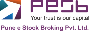 Pune e Stock Broking Pvt. Ltd. Logo Vector