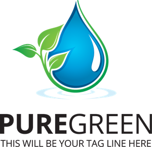 Pure Green Logo Vector