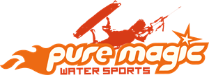 Pure Magic Water Sports Logo Vector