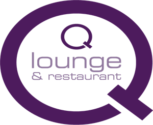 Q Lounge & Restaurant Logo Vector