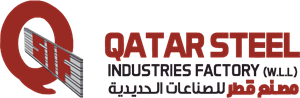 Qatar Steel Industries Factory Logo Vector
