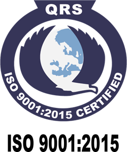 QRS - ISO 9001-2015 Certified Logo Vector