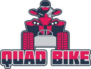 Quad bike Logo Vector