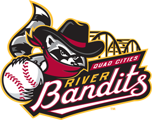 QUAD CITIES RIVER BANDITS Logo Vector