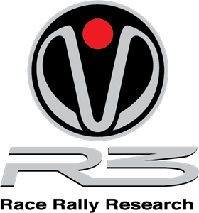 R3 Race Rally Research Logo Vector