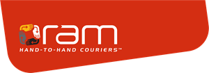 RAM Couriers Logo Vector