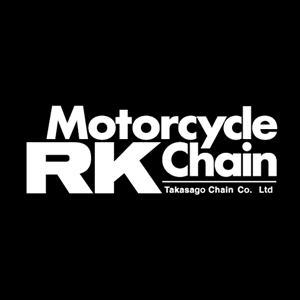 RK Motorcycle Chain Logo Vector