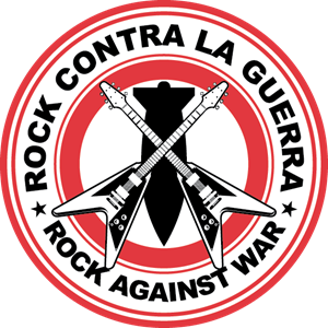 ROCK CONTRA LA GUERRA Version 1 Logo Vector