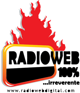 Radio Web Digital Logo Vector