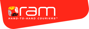 Ram Hand To Hand Couriers Logo Vector