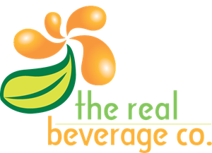 Real Beverage Logo Vector