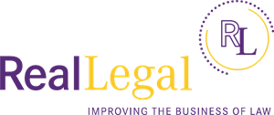 Real Legal Logo Vector