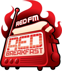 RedFM Red Breakfast 4C Logo Vector