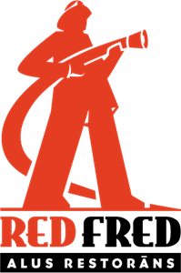 Red Fred Logo Vector