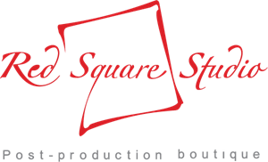Red Square Studio Logo Vector