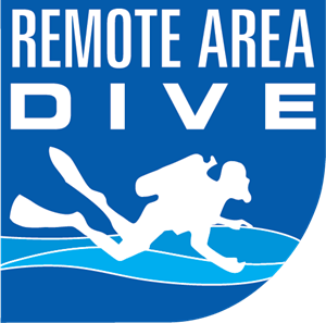 Remote Area Dive Logo Vector
