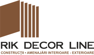 Rik Decor Line Logo Vector
