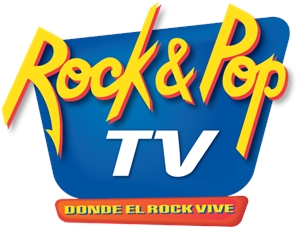 Rock & Pop TV Logo Vector