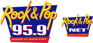 Rock and Pop 95.9 Logo Vector