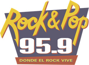 Rock and Pop Radio Logo Vector