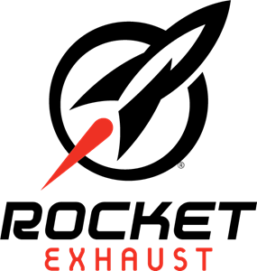 Rocket Exhaust Logo Vector