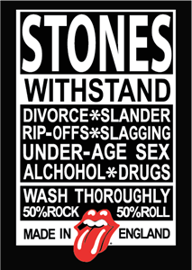 Rolling Stones Made in Englad Logo Vector