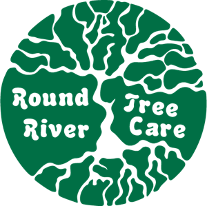 Round River Tree Care Logo Vector