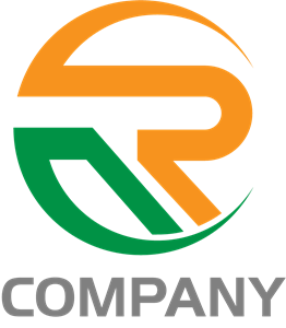 R Letter Company Logo Vector